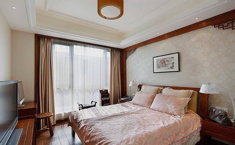 卧室图片来自武汉苹果装饰在苹果装饰 新世界梦湖香郡的分享
