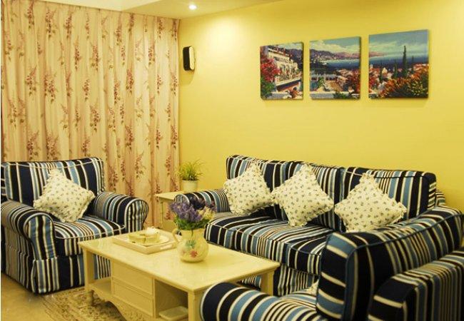 客厅图片来自武汉苹果装饰在苹果装饰 天纵半岛蓝湾的分享