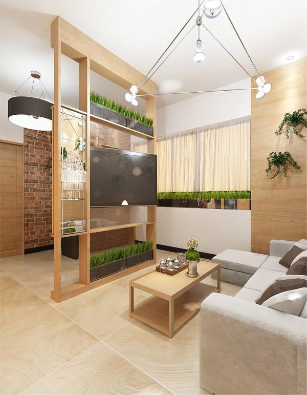 客厅卧室都分别做了飘窗和落地窗增加采光,并且灯选择白度比较高的。