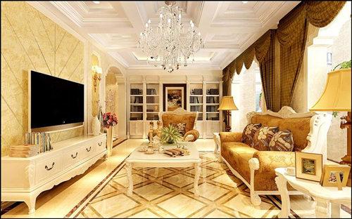 客厅图片来自武汉苹果装饰在苹果装饰 汉口城市广场案例的分享