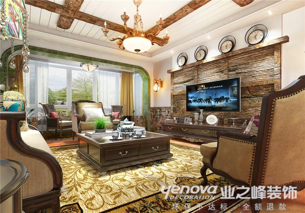 客厅图片来自青岛业之峰装饰--小娟在澳门花园  美式的分享