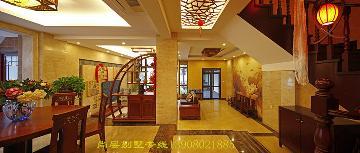 成都尚层装饰--芙蓉古城中式