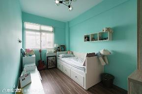 三居 北欧 简约 收纳 儿童房图片来自幸福空间在宠物也是家人 北欧质感生活宅的分享