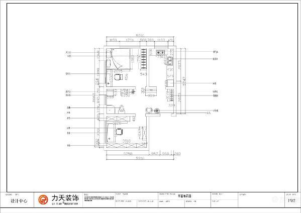 本套是府上和平,两室一厅一厨一卫的户型,比较小,共64平米。