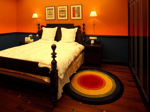 卧室图片来自武汉苹果装饰在苹果装饰 保利上城的分享
