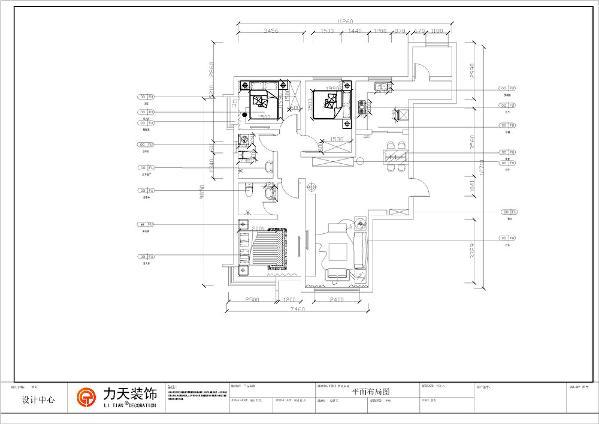 本户型为天骥筑景三室两厅两卫121平方米。该户型规矩方正,南北通透,光线充足,空间合理,可以为住户创造舒适的住房体验