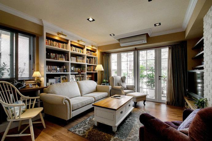客厅图片来自武汉苹果装饰在苹果装饰  楚天都市沁园的分享