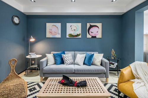 简约 四居 三代同堂 诗意生活 客厅图片来自西安福尚装饰家装体验馆在西安中航华府128平装修效果图的分享