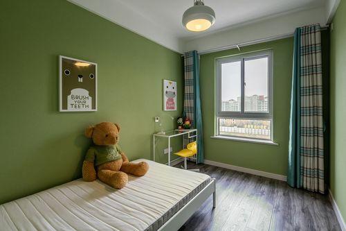 简约 四居 三代同堂 诗意生活 儿童房图片来自西安福尚装饰家装体验馆在西安中航华府128平装修效果图的分享