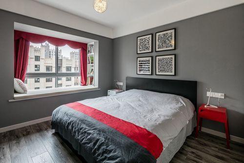 简约 四居 三代同堂 诗意生活 卧室图片来自西安福尚装饰家装体验馆在西安中航华府128平装修效果图的分享