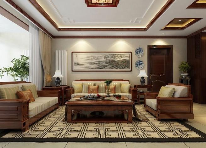 客厅图片来自武汉苹果装饰在苹果装饰 -金地自在城的分享