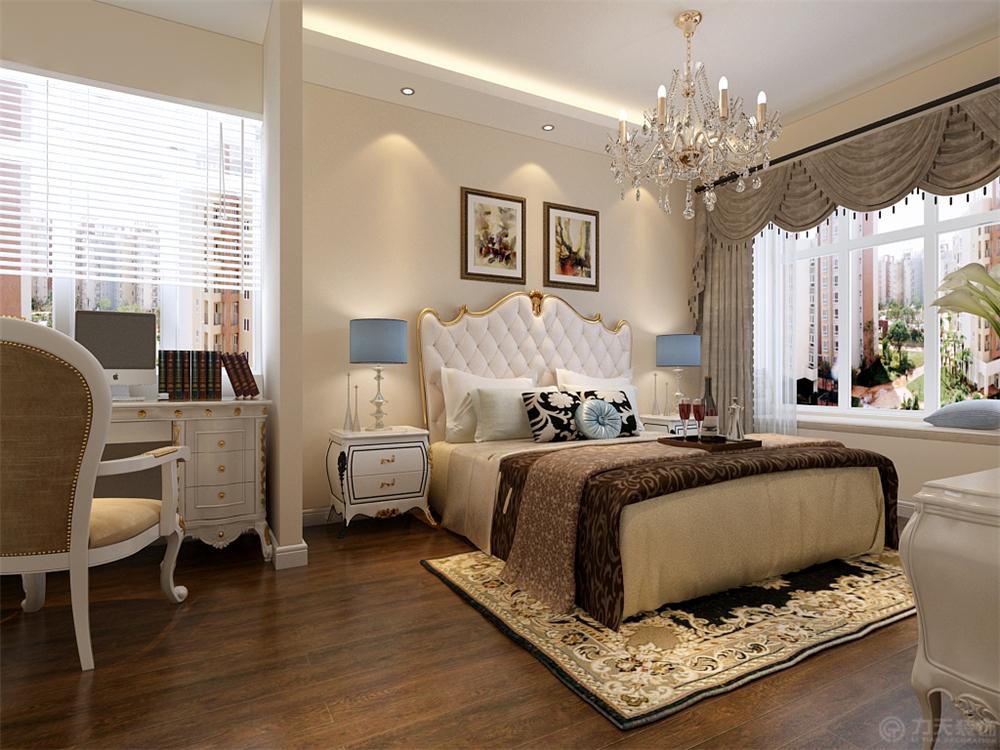 津南新城 欧式 卧室图片来自阳光放扉er在力天装饰-津南新城91㎡的分享
