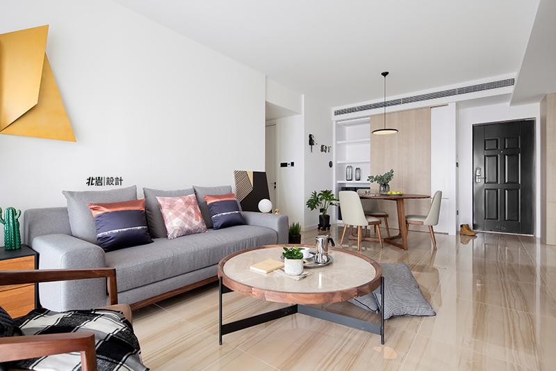 三居 收纳 简约 客厅图片来自北岩DESIGN在【本来生活】北岩设计实景作品的分享