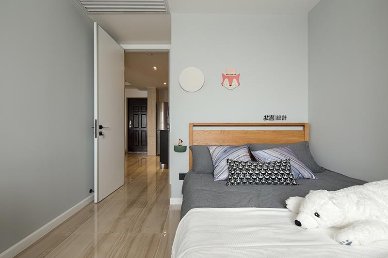 三居 收纳 简约 儿童房图片来自北岩DESIGN在【本来生活】北岩设计实景作品的分享
