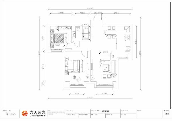 案为远洋城两室两厅一厨一卫94.5㎡户型,经过和业主前期沟通,我们将本案定义为现代简约风格。