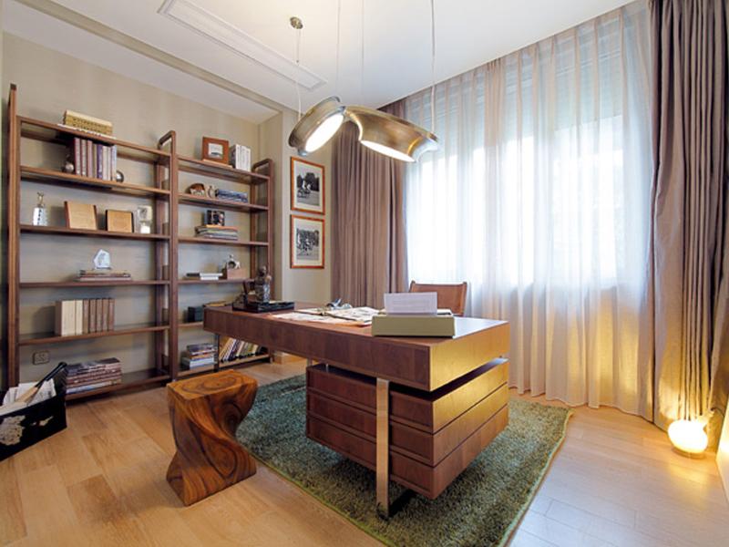 书房图片来自武汉苹果装饰在苹果装饰 -招商江湾国际的分享