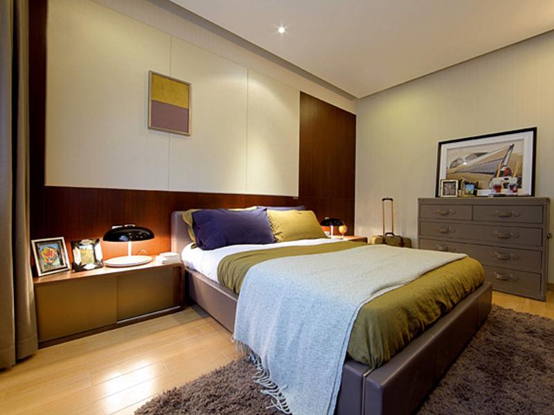 卧室图片来自武汉苹果装饰在苹果装饰 -招商江湾国际的分享