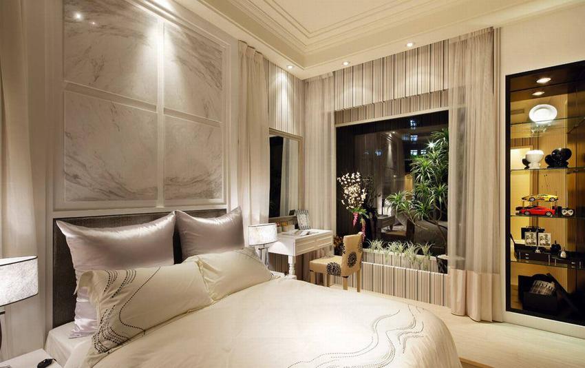 卧室图片来自武汉苹果装饰在苹果装饰- 楚天都市雅园的分享
