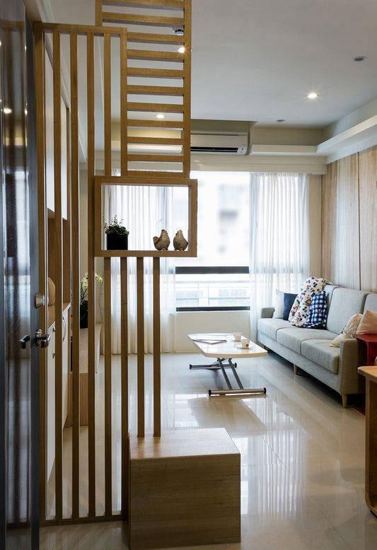 简约 现代简约 混搭 二居 三居 别墅 白领 收纳 旧房改造 客厅图片来自北京今朝装饰-慧琳在天通苑北一区100平现代简约的分享