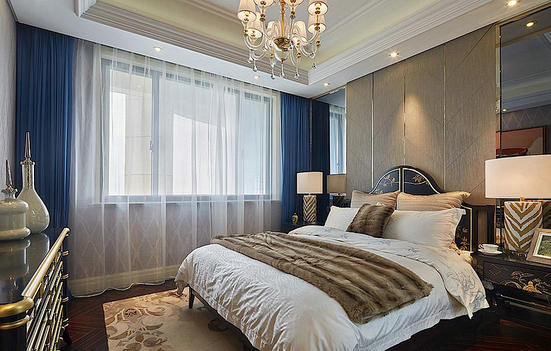 卧室图片来自家装大管家在140平奢华欧式风格 富丽堂皇家园的分享