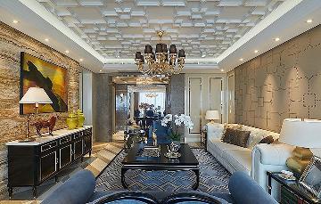 140平奢华欧式风格 富丽堂皇家园