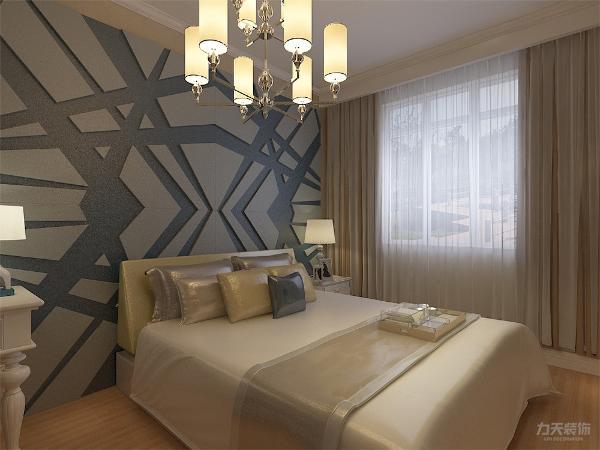 次卧整体感觉和主卧一样,具有统一性。整个设计和谐统一,给人以温馨舒适的感觉。主卧室背景墙用石膏板造型,灰、黄、米等色彩元素搭配的床整体体现温馨的感觉,柔和的色调,不会显得混乱。