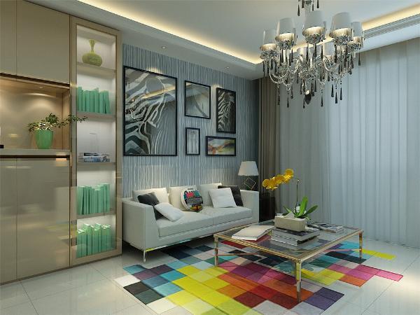 客厅设计我们采用动线合理的布置,交通设计流畅,使我们更好的利用空间。创造一个温馨,健康,引领潮流的家庭环境。