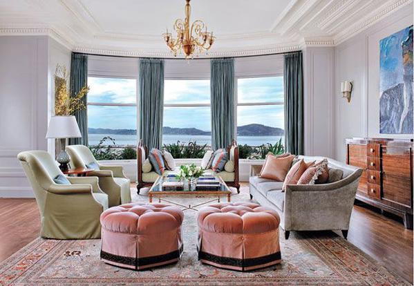 户型:别墅  风格:美式  空间:卧室、客厅、餐厅等