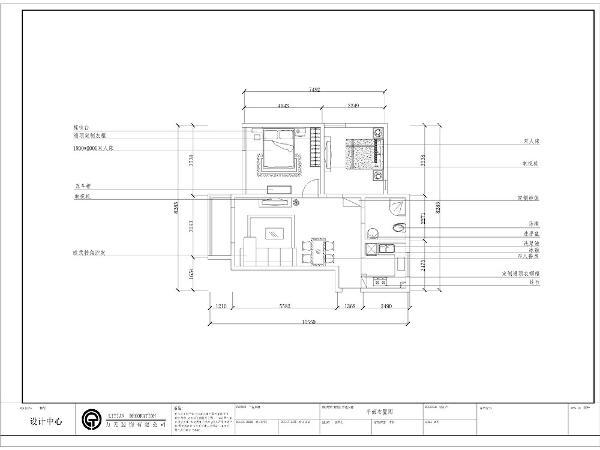 从户型上看,空间整体布局比较规整,首先保证原空间的合理性,其次尽可能合理利用空间,以轻装修重装饰为设计理念。