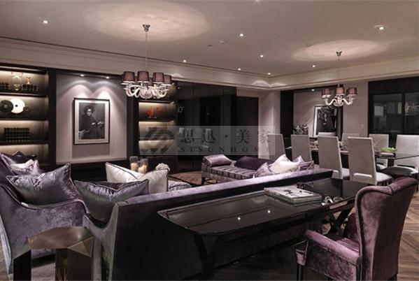 户型:大平层 风格:新古典 空间:客厅,卧室等
