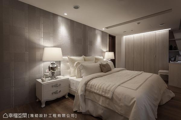 空间中采用简练的线条,结合温婉舒适的色调,为屋主打造出尊贵有质感的氛围。