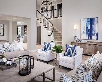 现代美式的优雅温馨之家