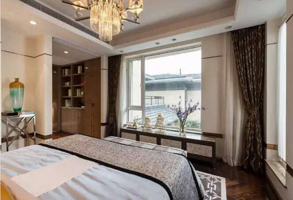 案例介绍: 户型:别墅  风格:港式风格  空间:卧室、客厅、餐厅等