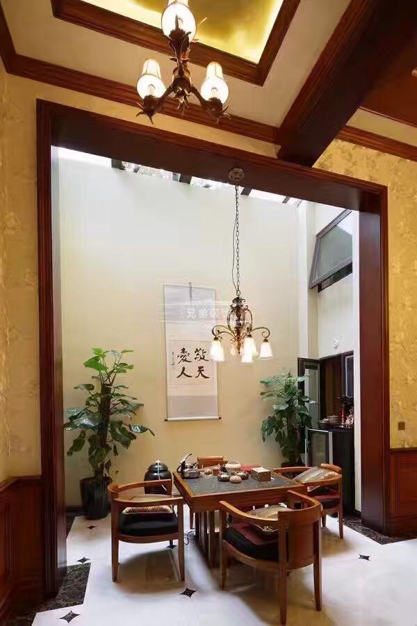 北麓官邸 别墅装修 美式风格 阳台图片来自兄弟装饰-蒋林明在重庆北麓官邸装修案例的分享