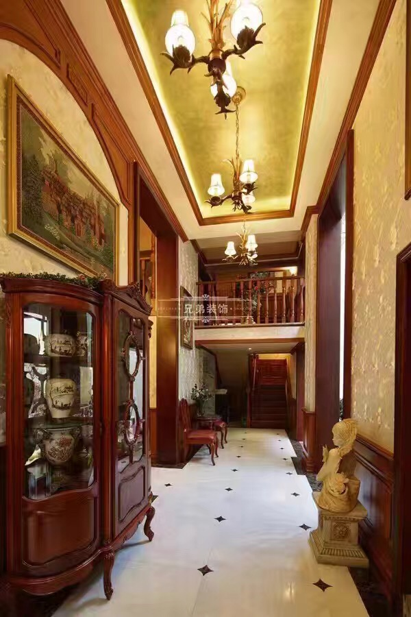 北麓官邸 别墅装修 美式风格 客厅图片来自兄弟装饰-蒋林明在重庆北麓官邸装修案例的分享
