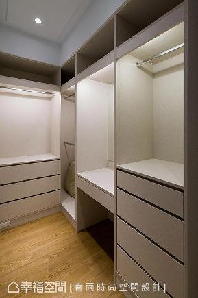 三居 现代 简约 收纳 衣帽间图片来自幸福空间在美型好整理 高质感住宅的分享