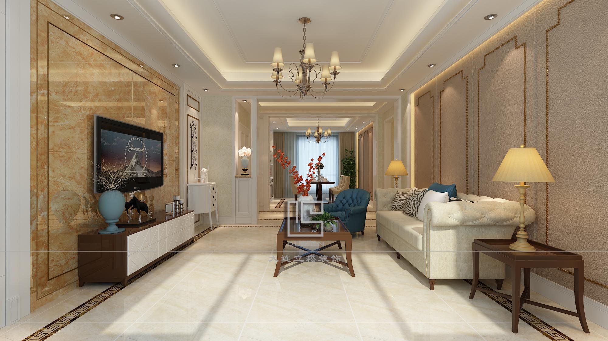 简约 客厅图片来自大连立崧装饰在简约欧式的分享
