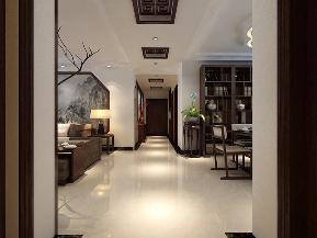 中式 三居 白领 小资 舒适 玄关图片来自tjsczs88在中式情依旧的分享