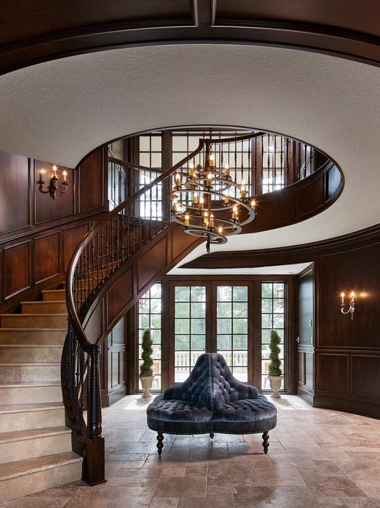 九章别墅 别墅 玄关图片来自别墅设计师杨洋在古典蕴育的设计美感-美式风格的分享
