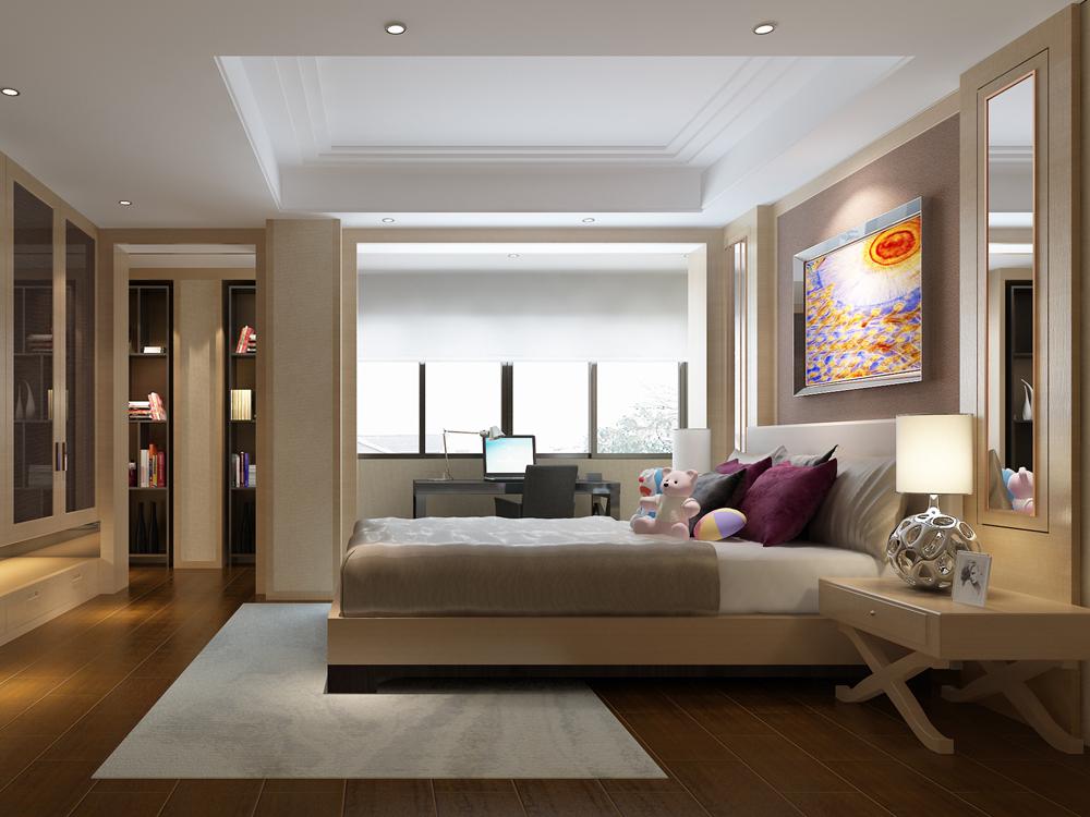 别墅 中式 卧室图片来自tjsczs88在清雅中国风的分享