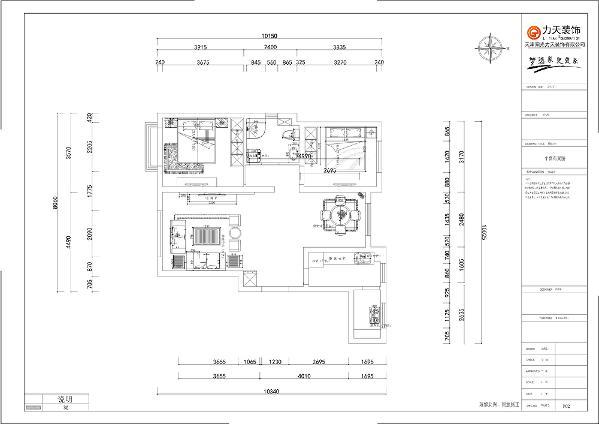 入户我们的正前方,首先看到的是一个较大的空间,它是较大的走廊,左边是一个客厅的设计,与入户门相邻的是厨房,在走道的右边是一个较小的空间可作为餐厅。与餐厅相邻的是卧室,与卧室相邻的是卫生间的设计