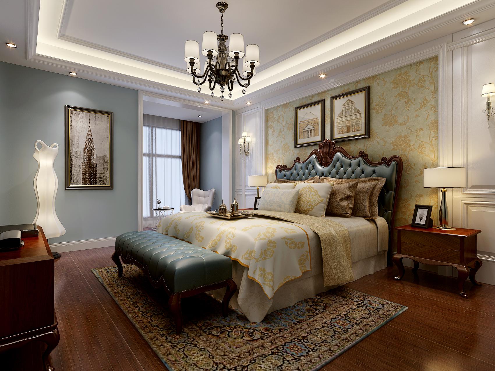 卧室图片来自北京业之峰装饰王宏哲在美式慢生活的分享