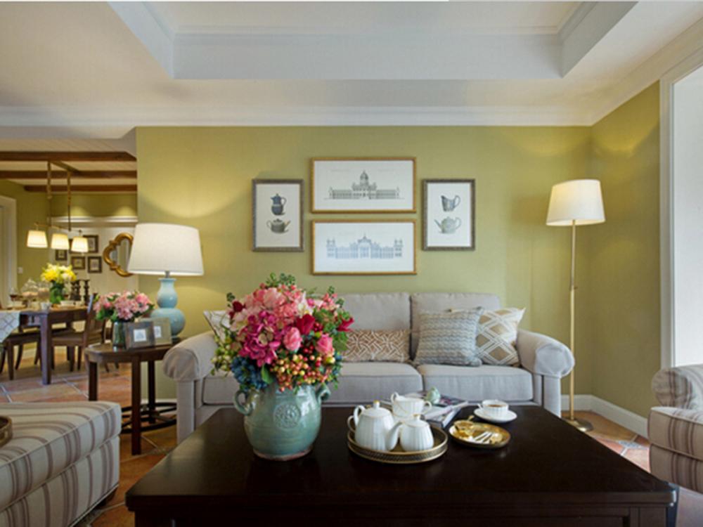 二居 简美 客厅图片来自tjsczs88在清雅美式的分享
