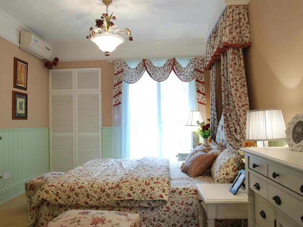 田园 三居 卧室图片来自tjsczs88在清新田园的分享