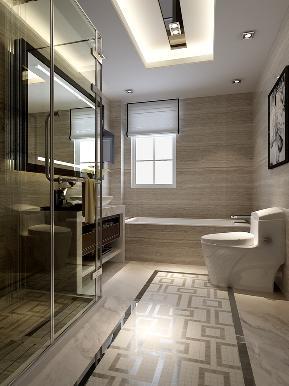中式 别墅 白领 奢华 卫生间图片来自tjsczs88在恋上家的分享
