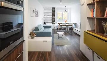 兰州实创装饰55㎡紧凑型公寓