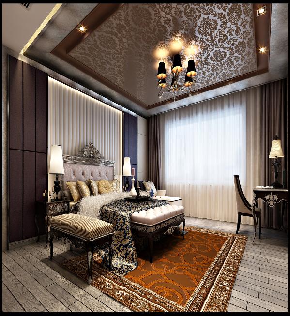 在卧室的设计上,要追求的是功能与形式的完美统一、优雅独特、简洁明快的设计风格。