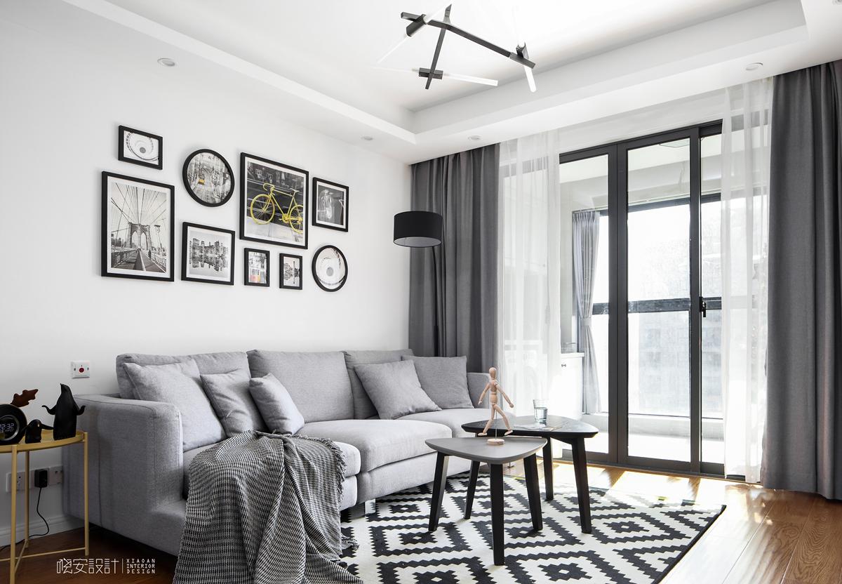 二居 白领 收纳 小资 客厅图片来自周晓安在晓安设计 | 灰度空间 | 北欧的分享
