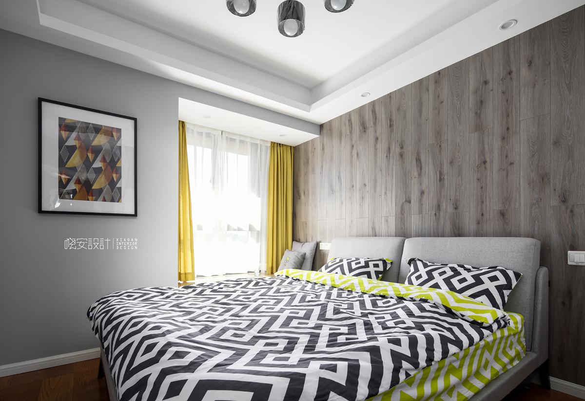 二居 白领 收纳 小资 卧室图片来自周晓安在晓安设计 | 灰度空间 | 北欧的分享