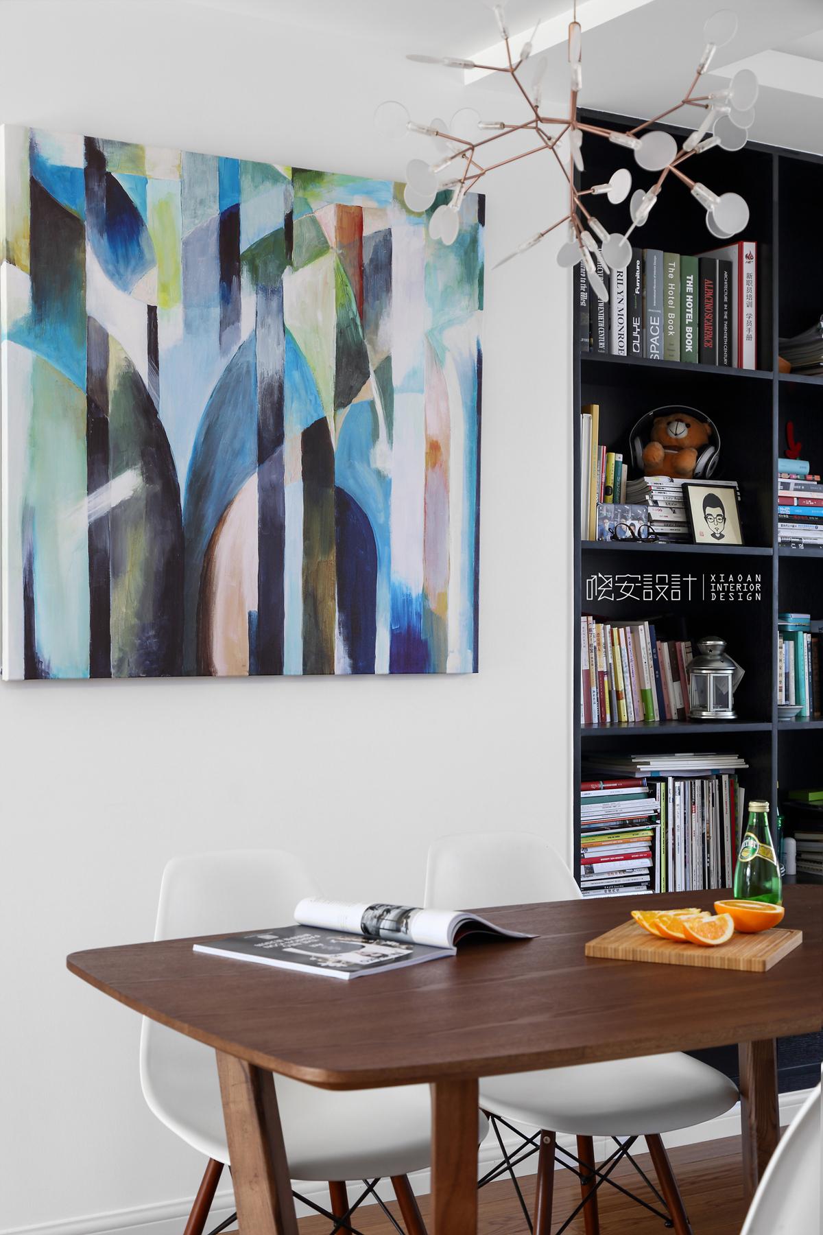 二居 白领 收纳 小资 餐厅图片来自周晓安在晓安设计 | 灰度空间 | 北欧的分享